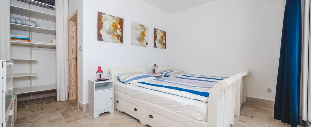 Bedroom III with single beds