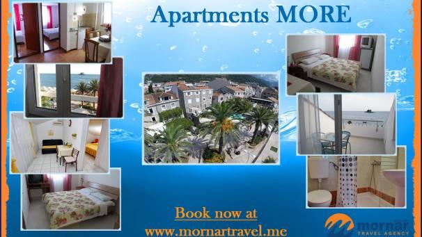 Apartments More | Mornar Travel | Petrovac Montenegro