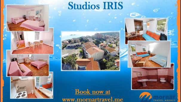Studios Iris | Mornar Travel | Petrovac Montenegro