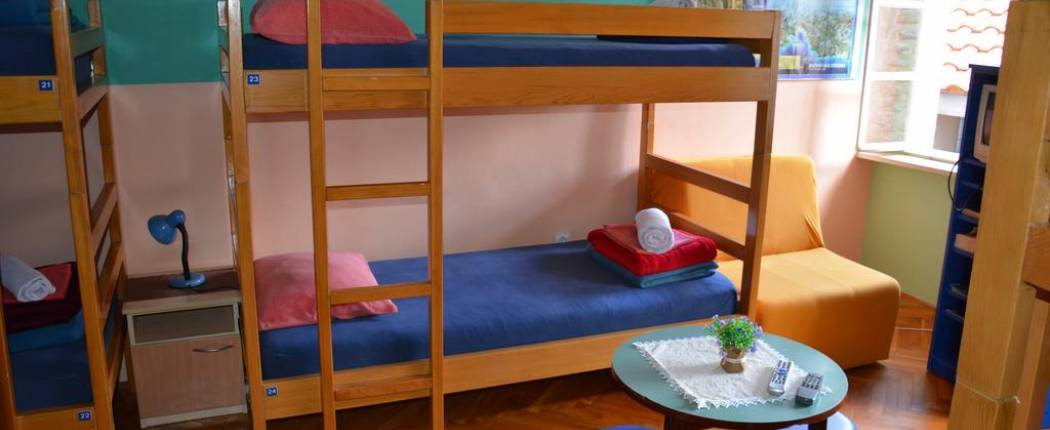 Hostel Montenegro Budva -  Bed in 6-Bed Mixed Dormitory Room