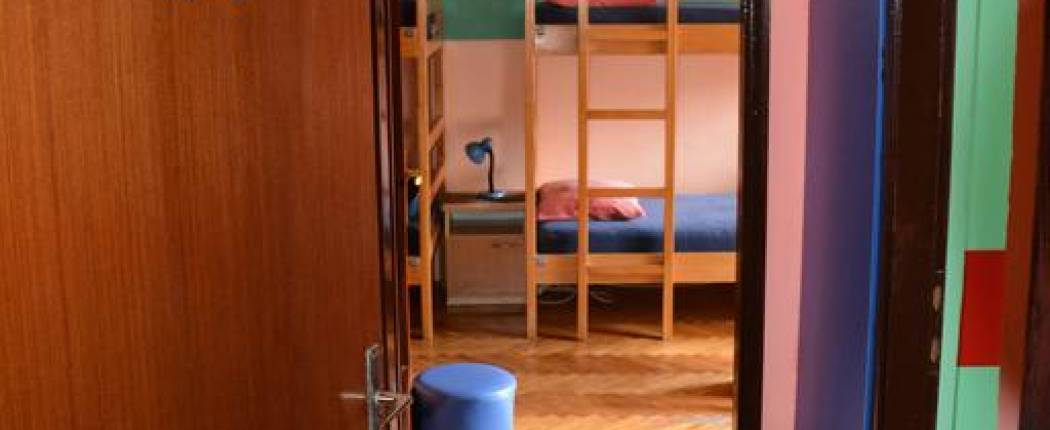 montenegro hostel budva - Bunk Bed in 8-Bed Dormitory Room