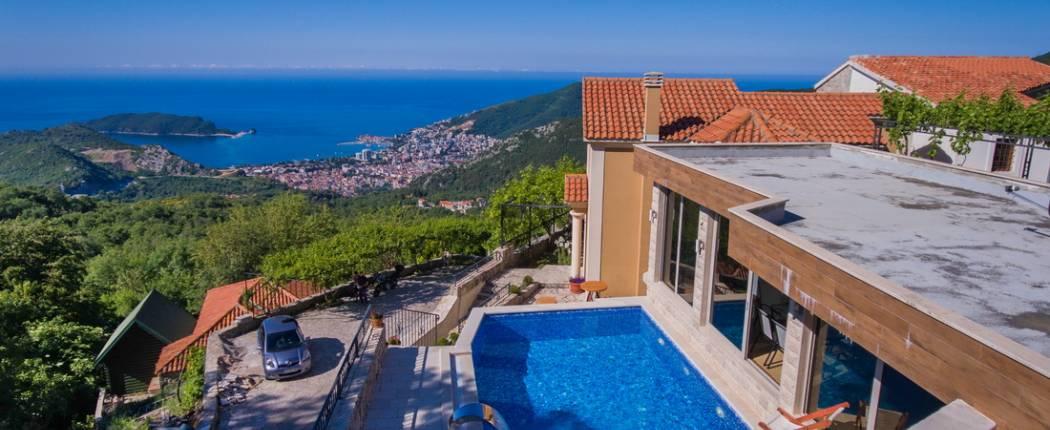 Holiday House Princess Mary Lapcici Budva Montenegro