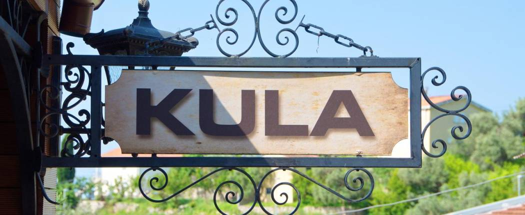 Guest House Kula Bar Montenegro sign