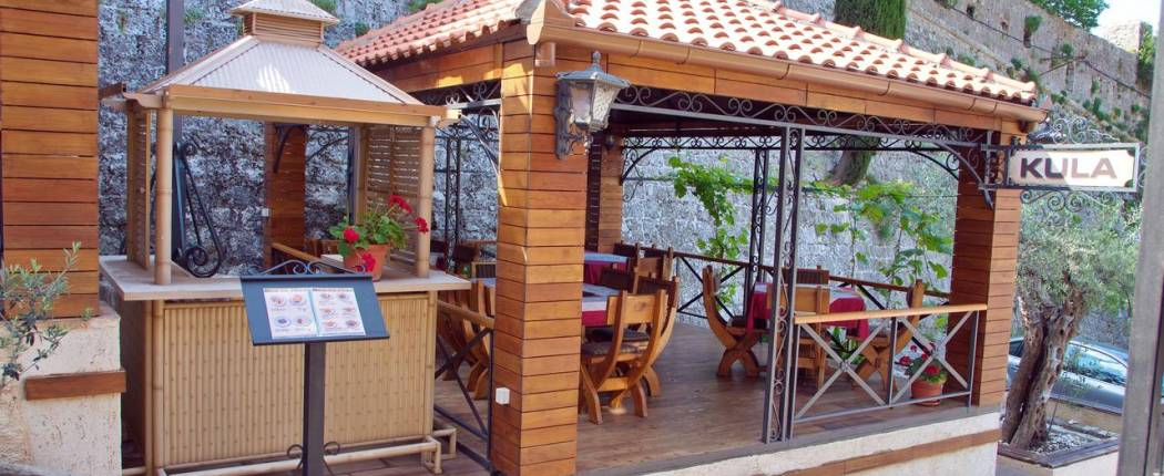 Guest House Kula Bar Montenegro terrace