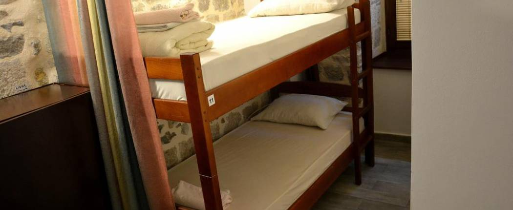 Montenegro Hostel Kotor - Bed in 10-Bed Mixed Dormitory Room