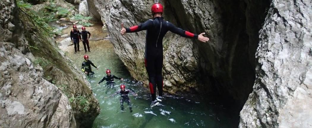 CANYONING - NEVIDIO CANYON - Montenegro   Cipa Travel