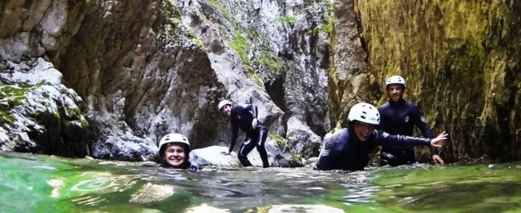 Canjoning-Nevidio Canjon