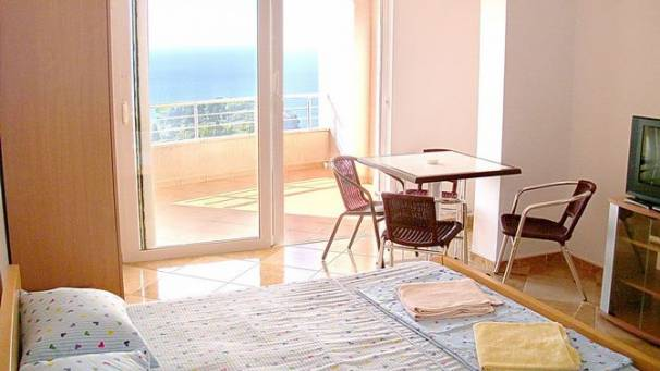 Panorama | triple studio apartments with sea view balcony | Mala plaža | Ulcinj | Mornar Travel | Montenegro