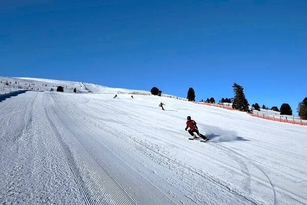 Ski resort Kreischberg, Austria