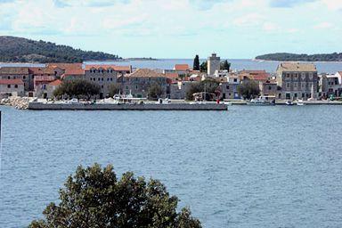Brodarica and island Krapanj
