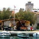Brodarica e l`isola di Krapanj