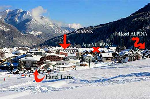 Skigebiet Kranjska gora