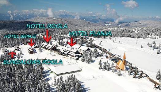 Ski resort Rogla