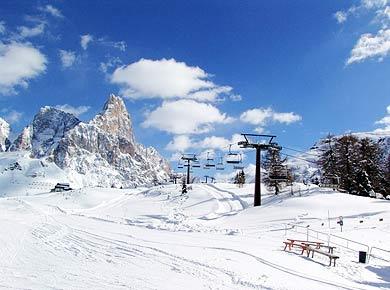 Lyžiarsky areál Val di Fiemme