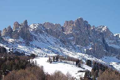 Skigebiet Val di Fassa