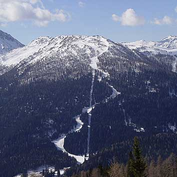 Ski resort San Martino di Castrozza