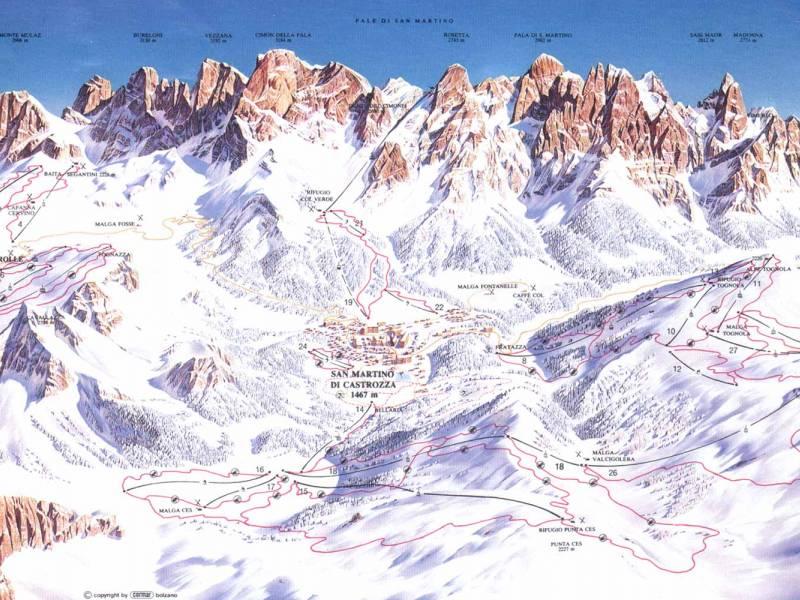 Skijalište San Martino di Castrozza