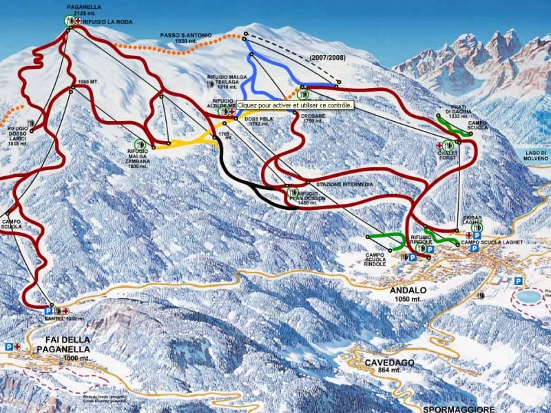 Ośrodek narciarski Altopiano della Paganella