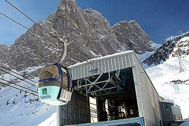 Ski resort Sella nevea