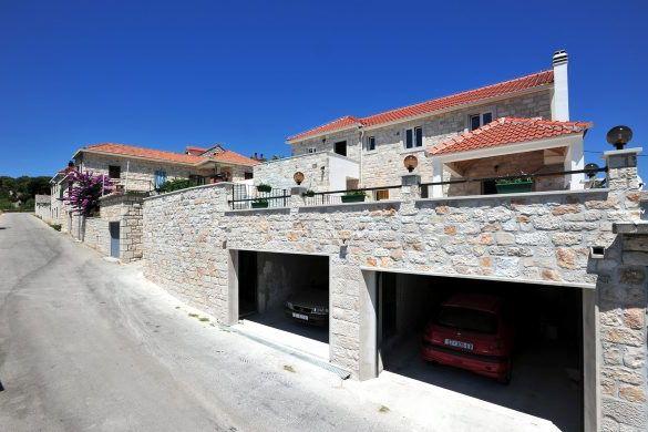 Hiša z bazenom Selca, otok Brač, Dalmacija, Hrvaška