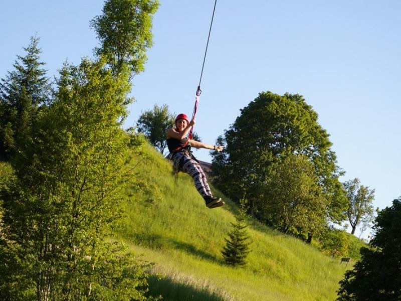 Adrenalinski park Kupjak