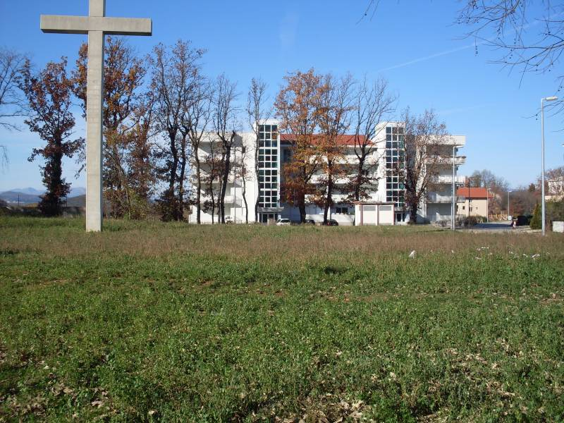 Carla apartments Medjugorje Vanski pogled zgrade