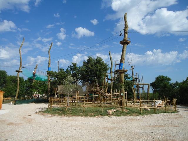 Parco avventura Glavani, Istria, Croazia