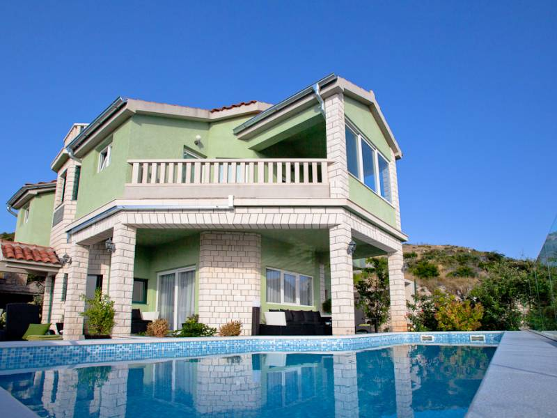 Villa with pool in Primosten, Dalmatia, Croatia