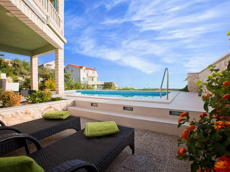 Casa vacanze con piscina in Primosten, Dalmazia, Croazia