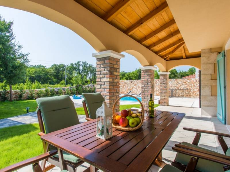 Villa with pool on the island Krk, Dobrinj, Croatia