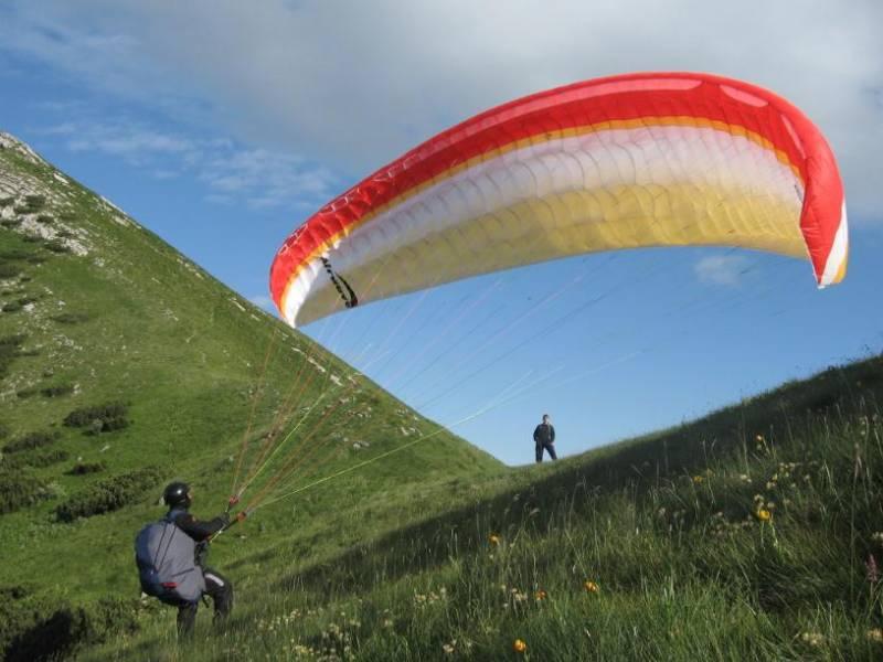 Sky riders paragliding Hrvaška 4