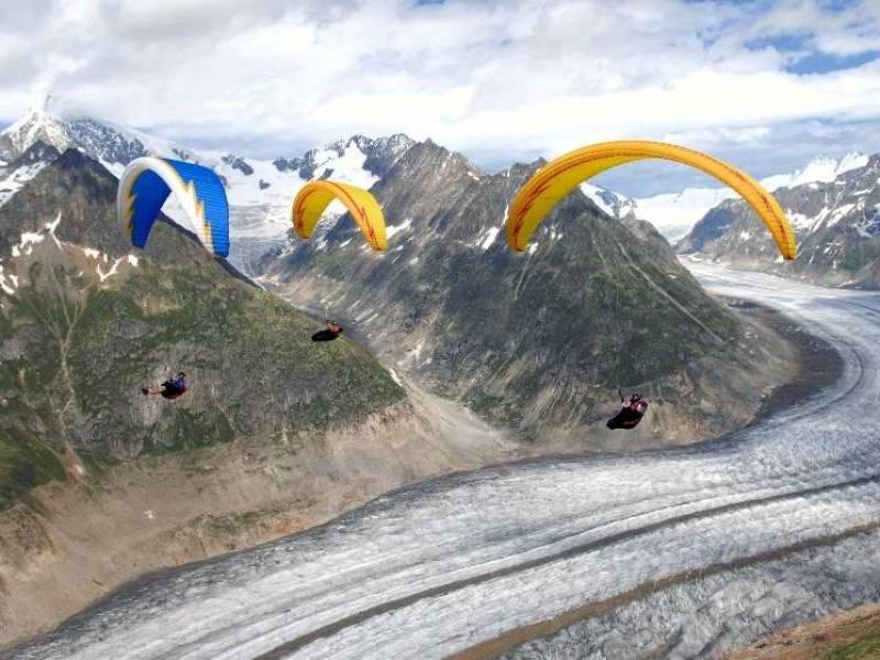 Sky riders paragliding Croatia