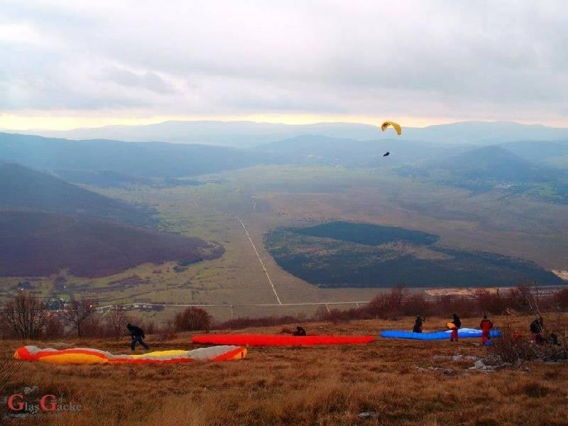 Sky riders paragliding Hrvaška 1