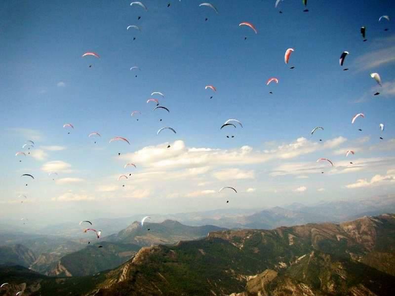 Sky riders paragliding Hrvaška 5