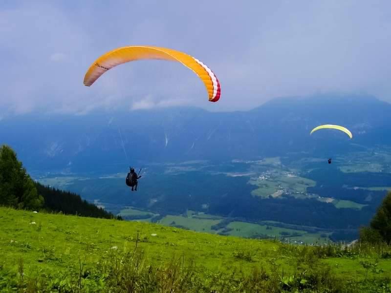 Sky riders paragliding Hrvaška 6