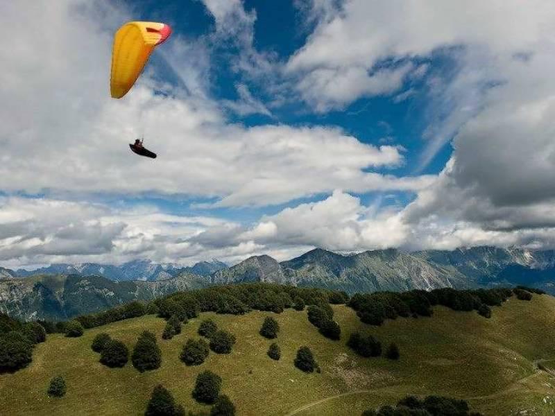 Sky riders paragliding Hrvaška 3
