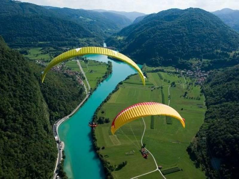 Sky riders paragliding Hrvaška 7
