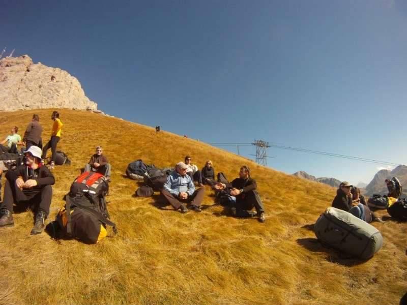 Sky riders paragliding Hrvaška