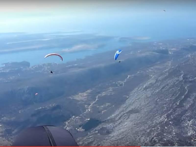 Sky riders paragliding Crikvenica, Hrvaška 3