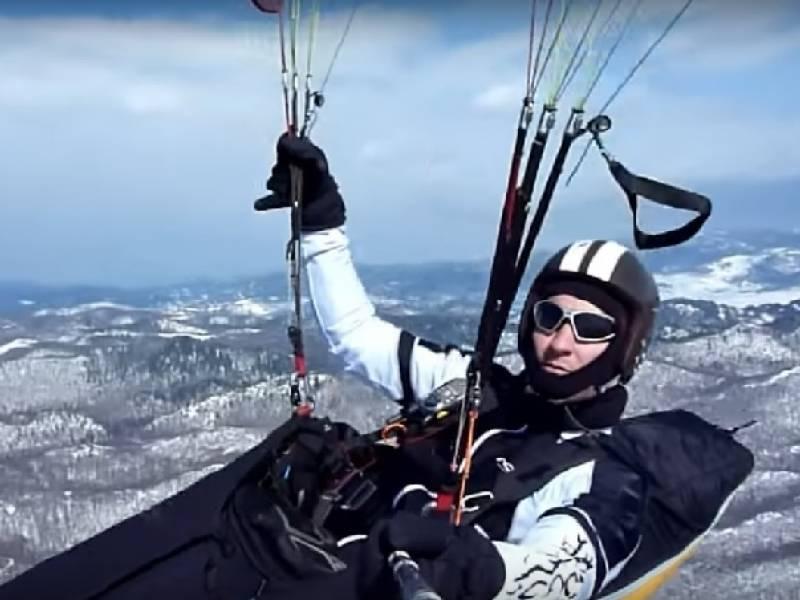 Sky riders paragliding Crikvenica, Hrvatska