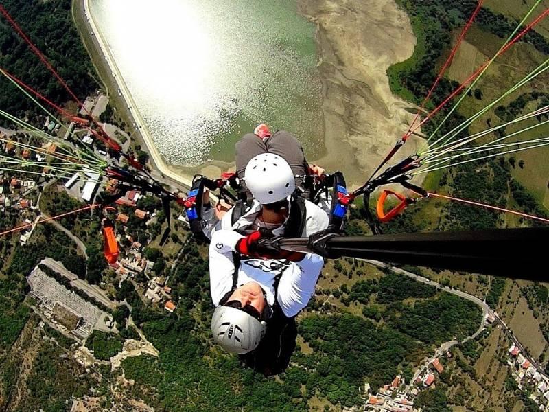 Sky riders paragliding Crikvenica, Hrvaška