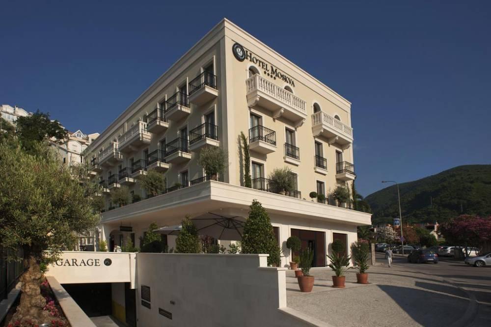 Отель Москва Hotel Moskva Budva - Montenegro | Cipa Travel