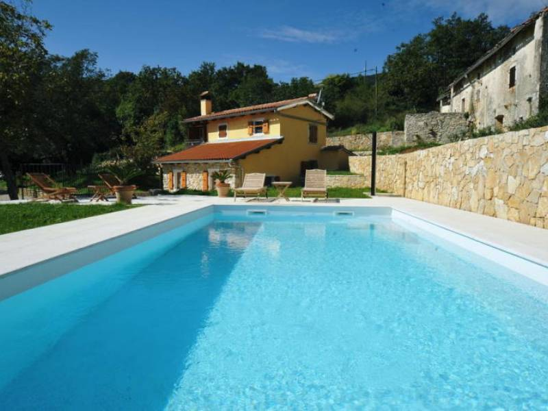 Villa with pool, Moscenicka Draga, Istria, Croatia