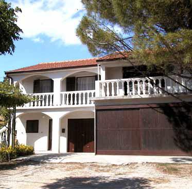 Hiša Ruža, Kampor, otok Rab, Hrvaška