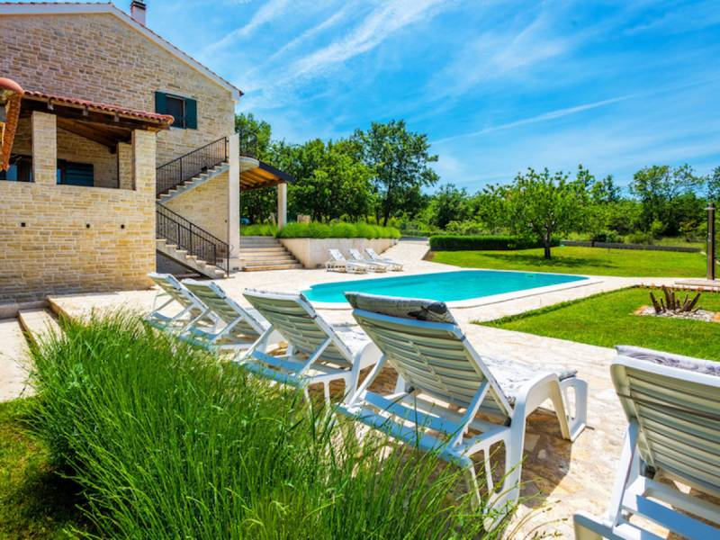Holiday house with pool, Zadar, Dalmatia, Croatia