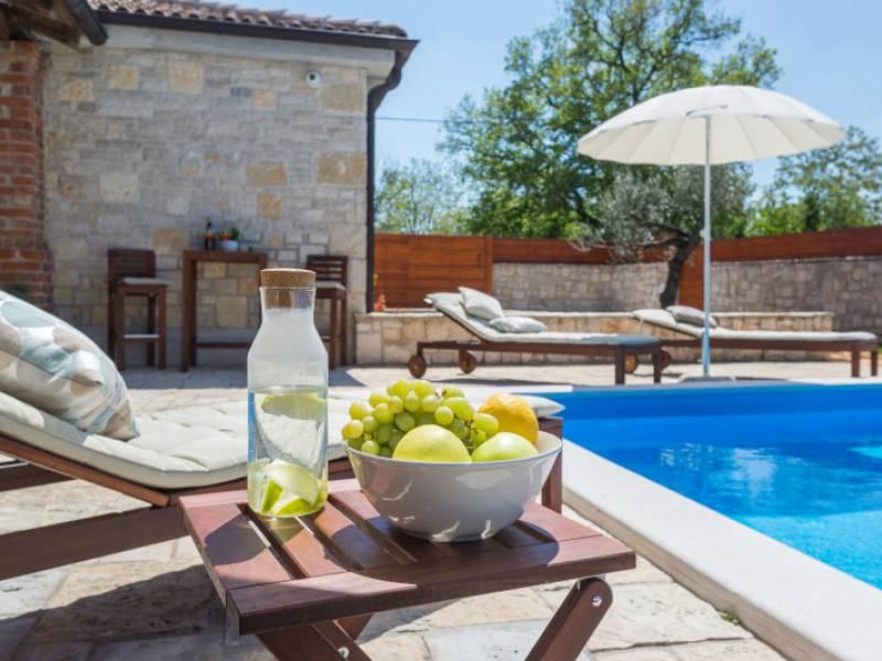 Holiday house with pool in Sveti Ivan, Porec, Istria, Croatia