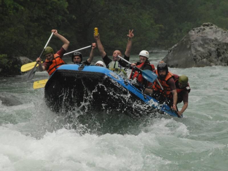Rafting Tarom z eno nočitvijo