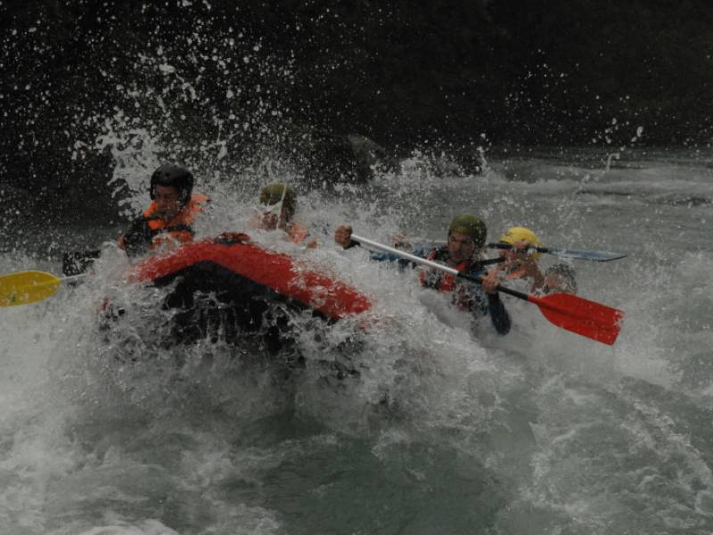 Rafting on river Tara with one overnight stay