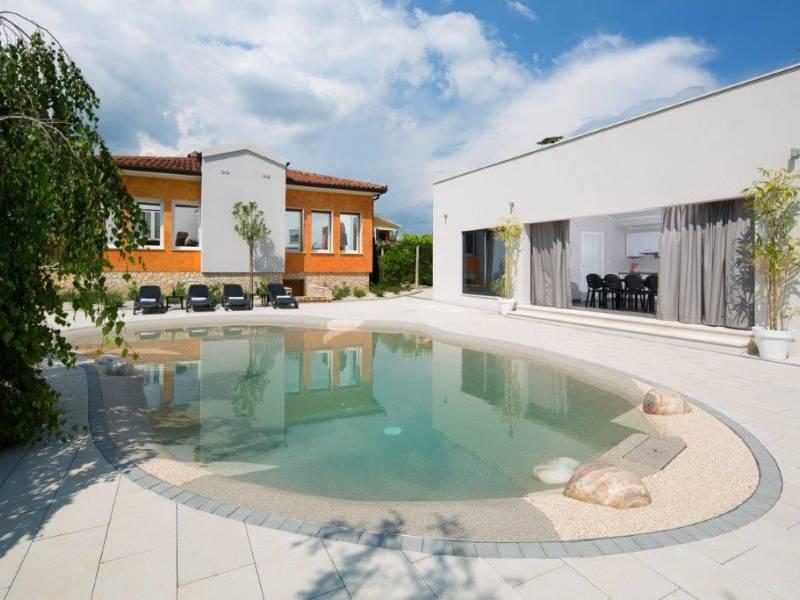 Luksuzna kuća za odmor sa bazenom Nedešćina, Rabac, Istra, Hrvatska