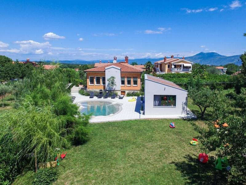 Luxury holiday house with pool in Nedescina, Rabac, Istria, Croatia
